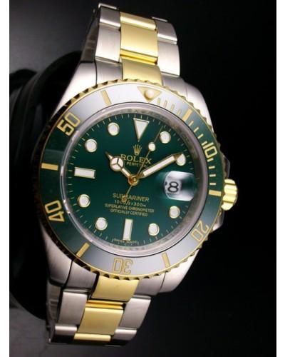 Réplicas_Rolex_Submariner_Dark_Green_Misto
