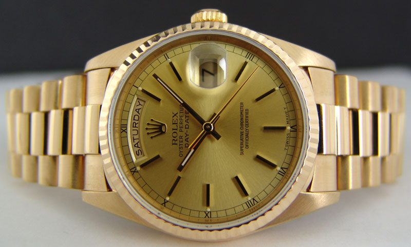 6c732b286a1 Réplica de relógio de luxo executivo  Rolex Day Date Presidente