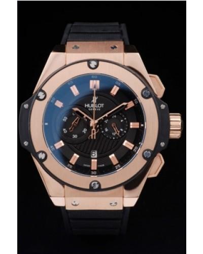 5fb0559c365 Réplica relógio Hublot King Power Dourado
