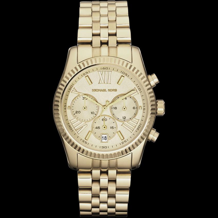 07e662bebdf Réplica do relógio Michael Kors MK5 para mulheres luxuosas