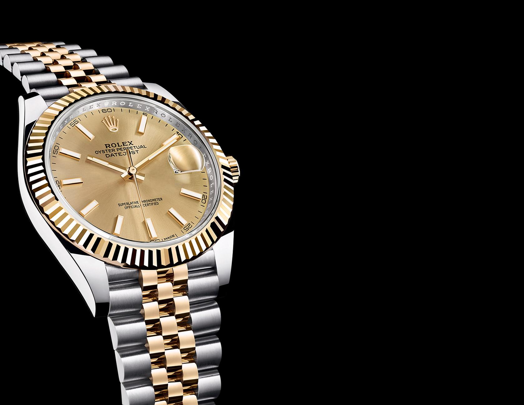 d1acec1381d Réplica relógio Rolex automático Datejust em detalhes