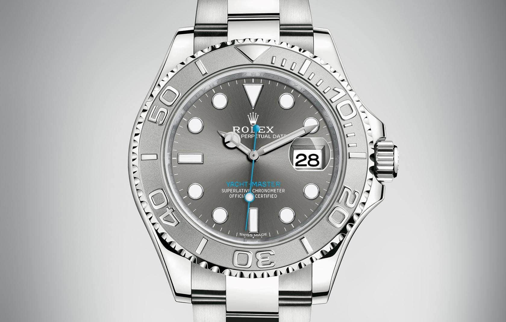 Réplicas Rolex Yachtmaster só para pessoas executivas